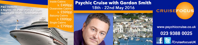 Gordon Smith Psychic Cruise 2016