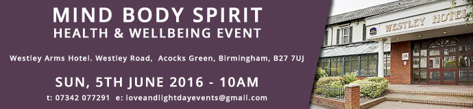 MIND BODY SPIRIT HEALTH & WELLBEING EVENT