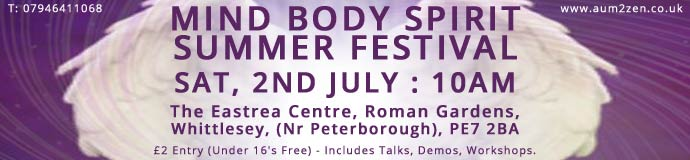MIND BODY SPIRIT SUMMER FESTIVAL