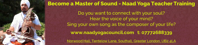 Become a Master of Sound - Naad Yoga Teacher Training