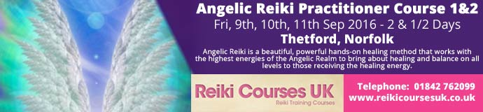 Angelic Reiki 1&2 Practitioner Course