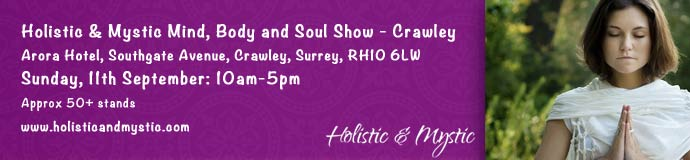 Holistic and Mystic MBS Show @ Arora Hotel, Crawley