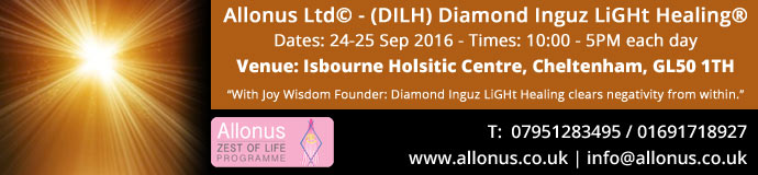 Diamond Inguz Light Healing