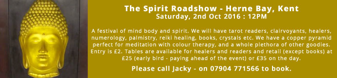 THE SPIRIT ROADSHOW