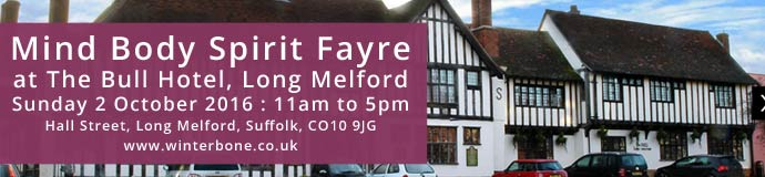 Mind Body Spirit Fayre at The Bull Hotel Long Melford