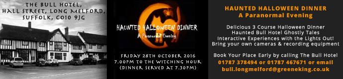 Haunted Halloween Dinner & Paranormal Evening