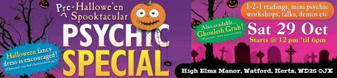 Halloween spooktacular psychic special