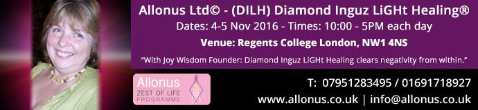 Diamond Inguz LiGht Healing