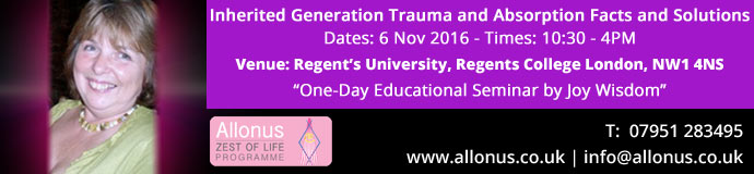 Inherited Generation Trauma and Absorption Facts and Solutions