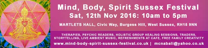 MIND, BODY, SPIRIT SUSSEX FESTIVAL