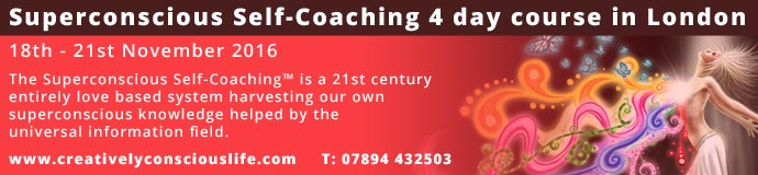Superconscious Self-Coaching 4 day course