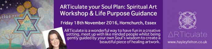 ARTiculate your Soul Plan: Spiritual Art Workshop & Life Purpose Guidance