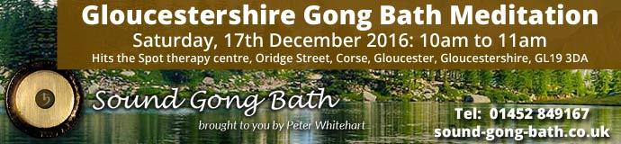 Gloucestershire Gong Bath Meditation