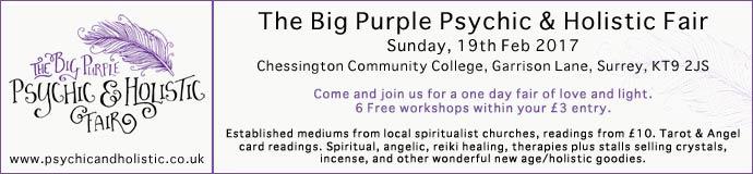 The Big Purple Psychic & Holistic Fair
