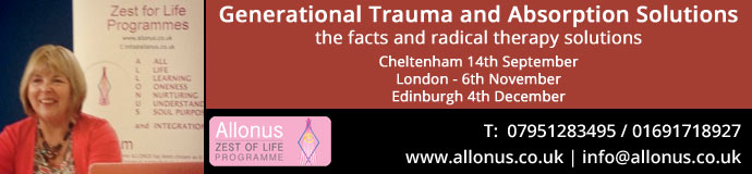 Generational Trauma absorption solutions - Seminar dates