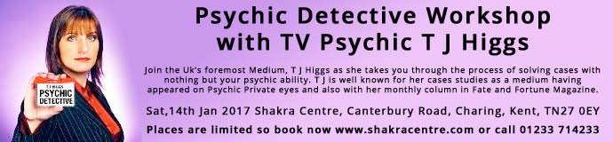 Psychic Detective Workshop with T J Higgs