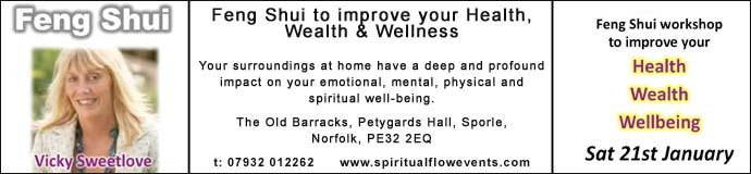 Feng Shui to improve your Health, Wealth & Wellness