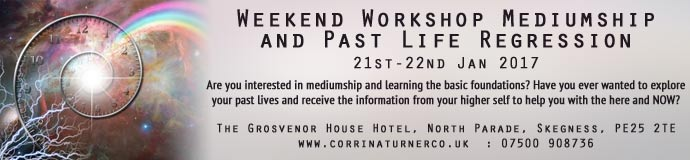 Weekend Workshop Mediumship and Past Life Regression