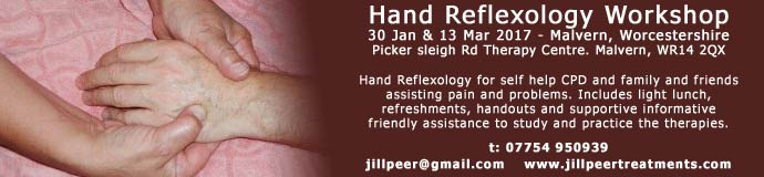 Hand Reflexology Workshop