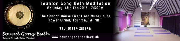 Taunton Gong Bath Meditation