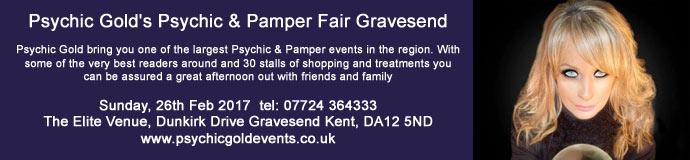 Psychic Gold's Psychic & Pamper Fair Gravesend