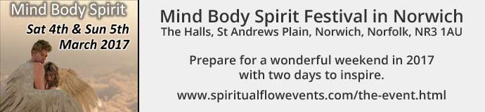 Mind Body Spirit Festival in Norwich