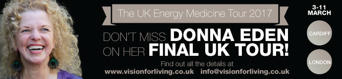 Donna Eden UK Your - CARDIFF 3rd/5th March 17 - Eden Energy Medicine