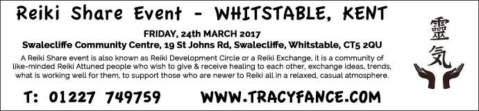 Reiki Sharing Event - 24th March 2017