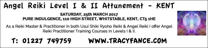 Angel Reiki Level I & II Attunement