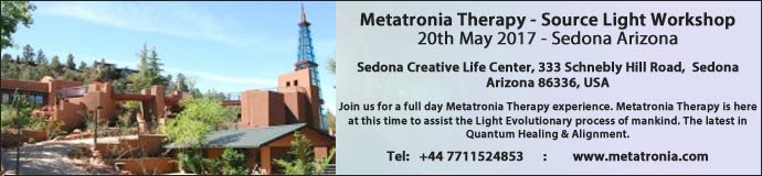 Metatronia Therapy - Source Light Workshop Sedona Arizona