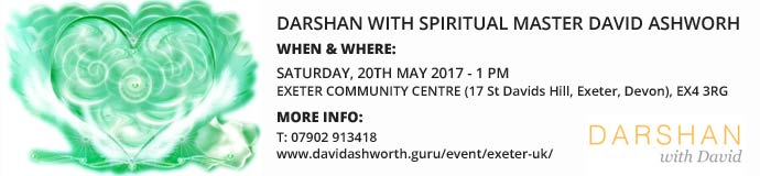 Darshan with spiritual master David Ashworth