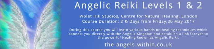 ANGELIC REIKI 1 & 2  Attunment workshop