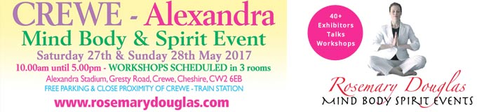 Crewe Alexandra - Mind Body Spirit Event