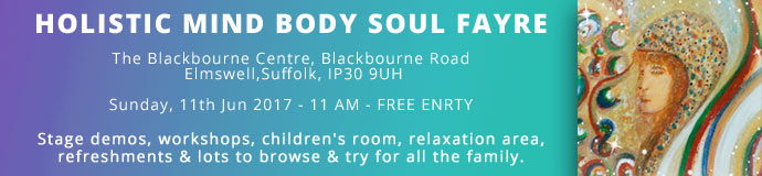 Holistic Mind Body Soul Fayre