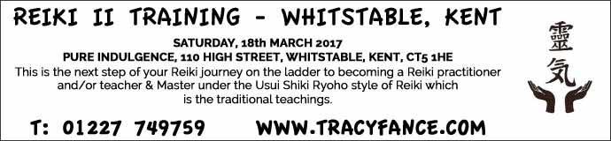 Usui Shiki Ryoho Reiki Level II Workshop