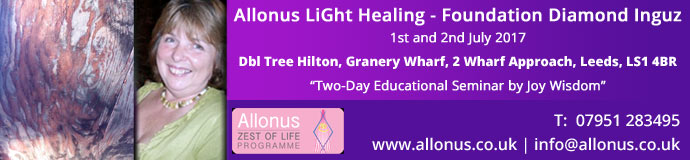Allonus LiGht Healing -Foundation Diamond Inguz