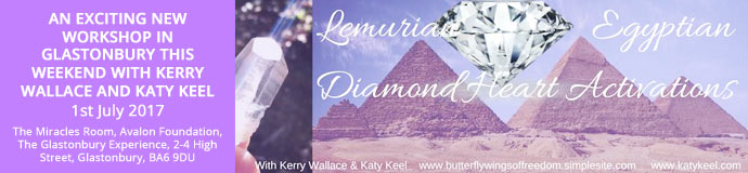 Lemurian & Egyptian Diamond Heart Activations