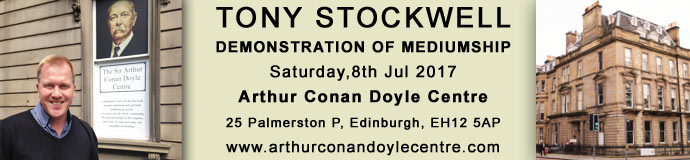 Tony Stockwell - Demonstration of Mediumship - Arthur Conan Doyle Centre