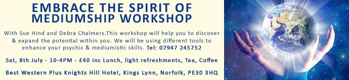 Embrace the Spirit of Mediumship Workshop