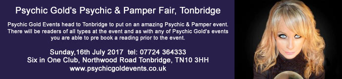 Psychic Golds Psychic & Pamper Fair Tonbridge