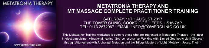 Metatronia Therapy & MT Massage complete Practitioner Training