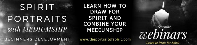 MEDIUMSHIP - SPIRIT PORTRAITS - LEARN TO DRAW for SPIRIT