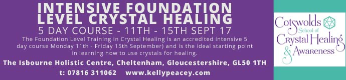 Intensive Foundation Level Crystal Healing