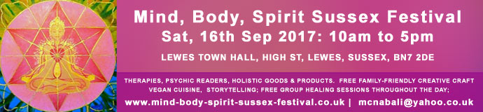 Mind, Body, Spirit Sussex Festival