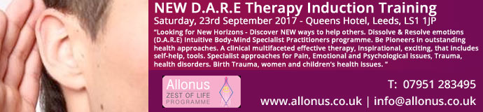 NEW D.A.R.E Therapy Induction Training