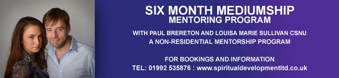 Six Month Mediumship Mentorship Program
