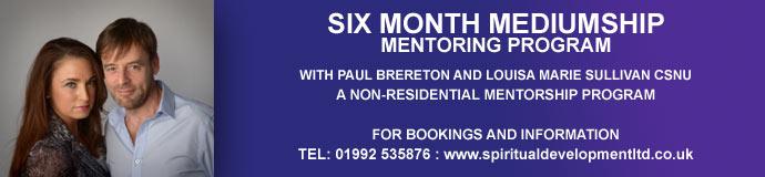 Six Month Mediumship Mentorship Program
