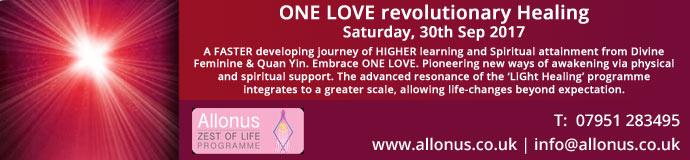 ONE LOVE revolutionary Healing