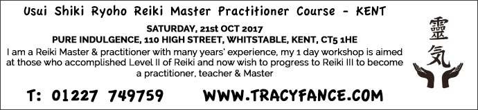 Usui Shiki Ryoho Reiki Master Practitioner Course
