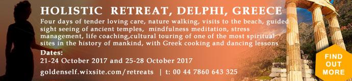 4 Day Holistic Retreat - Delphi Greece